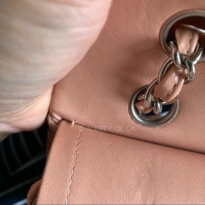 CHANEL Bags - Chanel 11C Nude / Blush Patent Classic Flap